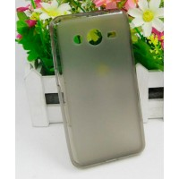 Силиконовый чехол для Samsung Galaxy Core 2 Черный
