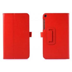 Чехол подставка с рамочной защитой серия Full Cover для ASUS ZenPad 7.0 Красный