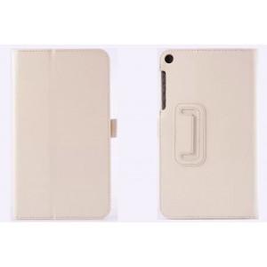Чехол подставка с рамочной защитой серия Full Cover для ASUS ZenPad 7.0 Белый