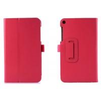 Чехол подставка с рамочной защитой серия Full Cover для ASUS ZenPad 7.0 Пурпурный