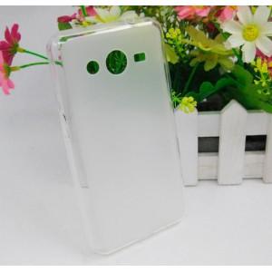 Силиконовый чехол для Samsung Galaxy Core 2 Белый