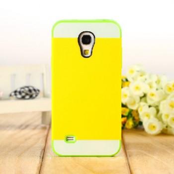 Двуцветный пластиковый чехол для Samsung Galaxy S4 Mini