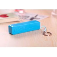 Ультракомпактное устройство-брелок для сохранения заряда гаджета 600 mAh Голубой