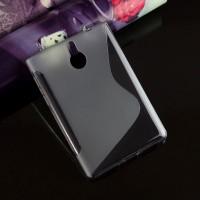 Силиконовый матовый S чехол для BlackBerry Passport Silver Edition Серый