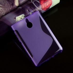 Силиконовый матовый S чехол для BlackBerry Passport Silver Edition