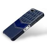 Эксклюзивный кожаный чехол ручной работы накладка (3 вида нат. кожи) для BlackBerry Z10