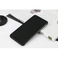 Точечный чехол смарт флип с функциями оповещения на пластиковой основе для HTC One E9+ Черный