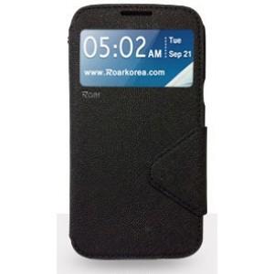 Чехол портмоне подставка с окном вызова и дизайнерской магнитной застежкой для Samsung Galaxy Note 5