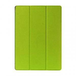 Чехол флип подставка сегментарный на поликарбонатной основе для Ipad Pro Зеленый