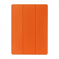 Чехол флип подставка сегментарный на поликарбонатной основе для Ipad Pro Оранжевый