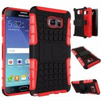 Антиударный силиконовый чехол экстрим защита с подставкой для Samsung Galaxy Note 5 Красный