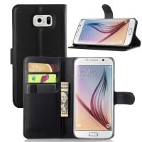 Чехол портмоне подставка с защелкой для Samsung Galaxy Note 5 Черный
