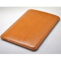 Кожаный вощеный мешок с логотипом для Ipad Pro Оранжевый