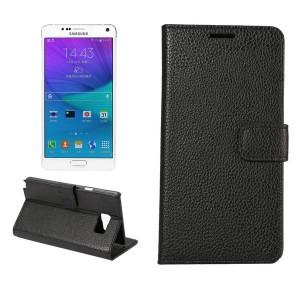 Чехол портмоне подставка с магнитной защелкой для Samsung Galaxy Note 5