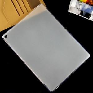 Силиконовый матовый полупрозрачный чехол для Ipad Pro Белый