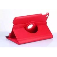 Чехол подставка роторный для Ipad Mini 4 Красный