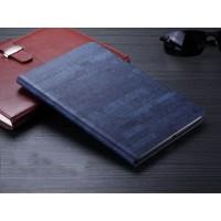 Чехол подставка на поликарбонатной основе текстура Камень для Ipad Mini 2 Синий