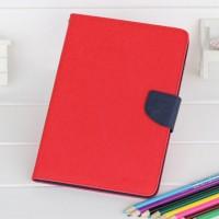 Чехол портмоне подставка на силиконовой основе с магнитной защелкой для Ipad Mini 4 Красный