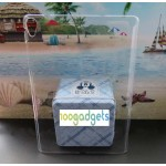 Пластиковый транспарентный чехол для Google Nexus 9