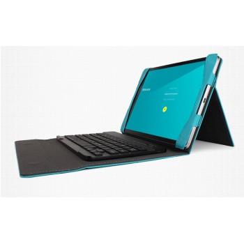 Текстурный чехол папка подставка с рамочной защитой экрана и подложкой для клавиатуры для Google Nexus 9