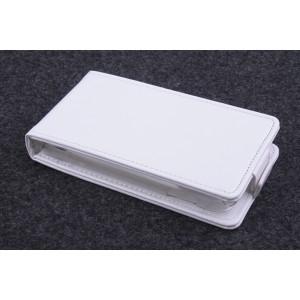 Чехол вертикальная книжка на пластиковой основе с магнитной застежкой для Fly IQ434 Era Nano 5