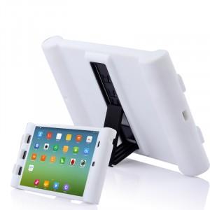 Детский силиконовый противоударный защитный чехол со встроенной подставкой для Xiaomi MiPad Белый