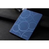 Чехол подставка на поликарбонатной основе текстура Круги для Xiaomi MiPad Синий