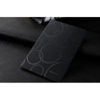 Чехол подставка на поликарбонатной основе текстура Круги для Xiaomi MiPad Черный