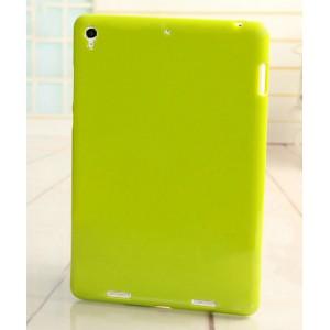 Силиконовый матовый непрозрачный чехол для Xiaomi MiPad Зеленый