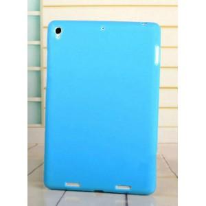 Силиконовый матовый непрозрачный чехол для Xiaomi MiPad Синий