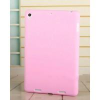 Силиконовый матовый непрозрачный чехол для Xiaomi MiPad Розовый