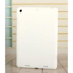Силиконовый матовый непрозрачный чехол для Xiaomi MiPad Белый