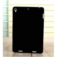 Силиконовый матовый непрозрачный чехол для Xiaomi MiPad Черный