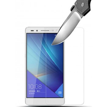 Ультратонкое износоустойчивое сколостойкое олеофобное защитное стекло-пленка для Huawei Honor 7