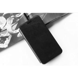 Чехол флип подставка водоотталкивающий для Huawei Honor 7 Черный