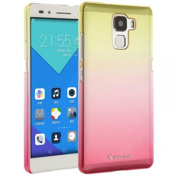 Пластиковый градиентный чехол для Huawei Honor 7