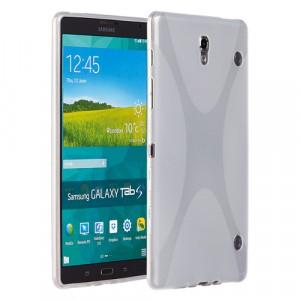 Силиконовый чехол X для Samsung Galaxy Tab S 8.4 Белый