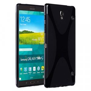 Силиконовый чехол X для Samsung Galaxy Tab S 8.4 Черный