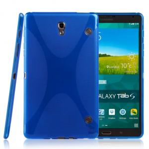 Силиконовый чехол X для Samsung Galaxy Tab S 8.4 Голубой