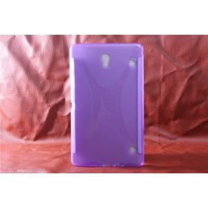 Силиконовый чехол X для Samsung Galaxy Tab S 8.4 Фиолетовый