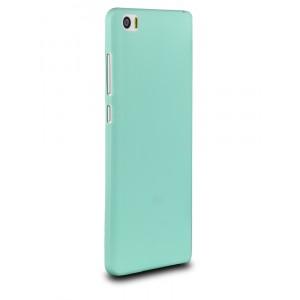 Силиконовый матовый нанотонкий 0.39 мм чехол для Xiaomi Mi Note Голубой