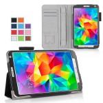 Чехол подставка с рамочной защитой, слотами для карт и поддержкой кисти для Samsung Galaxy Tab S 8.4