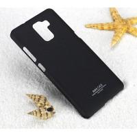Пластиковый матовый чехол с повышенной шероховатостью для Huawei Honor 7 Черный