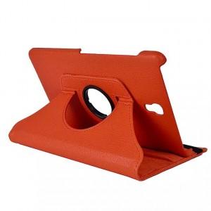 Чехол подставка роторный для Samsung Galaxy Tab S 8.4 Оранжевый