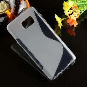 Силиконовый S чехол для Samsung Galaxy Note 5 Серый
