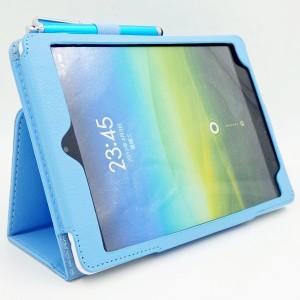 Чехол подставка с рамочной защитой экрана для Xiaomi MiPad Голубой