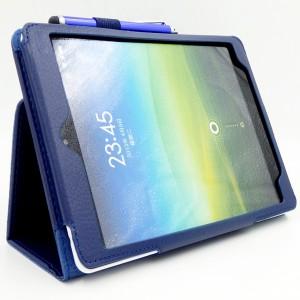 Чехол подставка с рамочной защитой экрана для Xiaomi MiPad Синий
