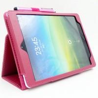 Чехол подставка с рамочной защитой экрана для Xiaomi MiPad Розовый
