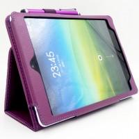 Чехол подставка с рамочной защитой экрана для Xiaomi MiPad Фиолетовый