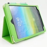 Чехол подставка с рамочной защитой экрана для Xiaomi MiPad Зеленый